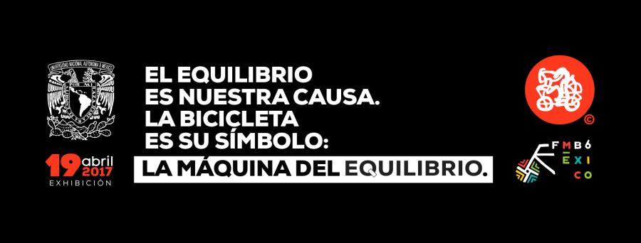 ARTE DE LAS BICICLETAS CON LOGO UNAM