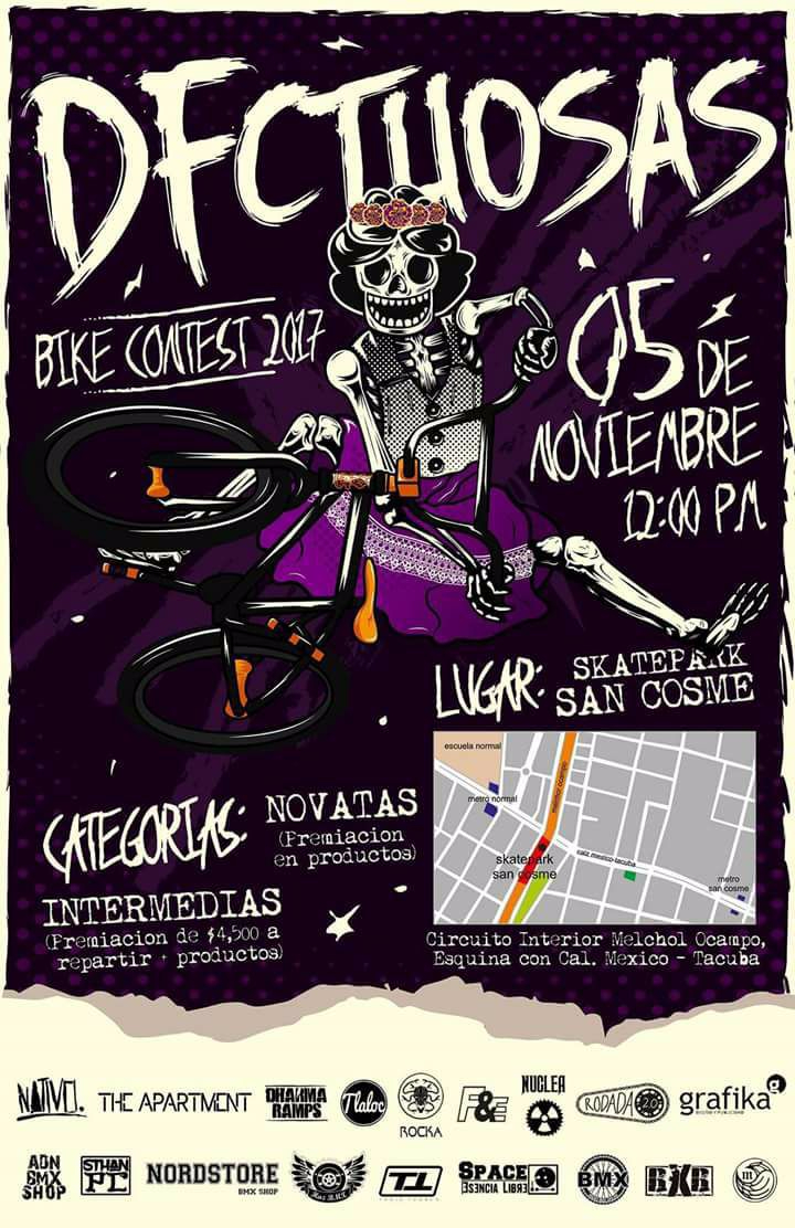 Dfectuosas Bike Contest 2017