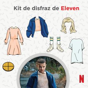 Disfraz de Eleven en Stranger Things