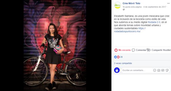 Cine Móvil Toto (en el marco del concurso de Impacto Social de Socialab en septiembre 2017)