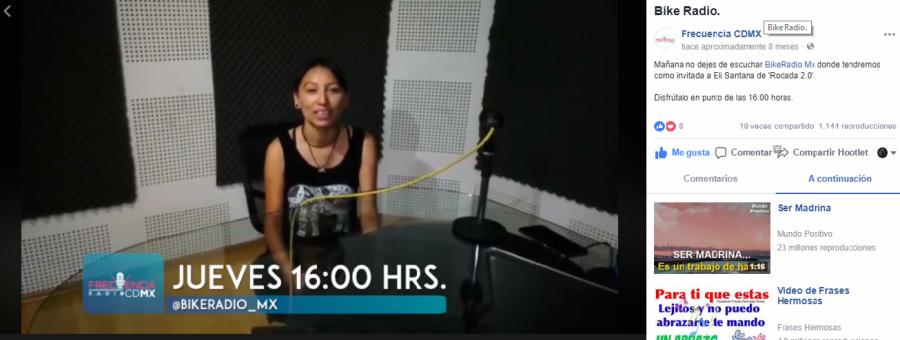 Entrevista Bike Radio en Frecuencia CDMX (mayo 2017)