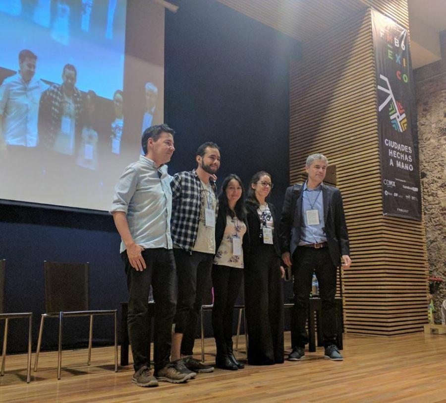 Panel La bicicleta, los medios de comunicación y la comunidad en FMB6