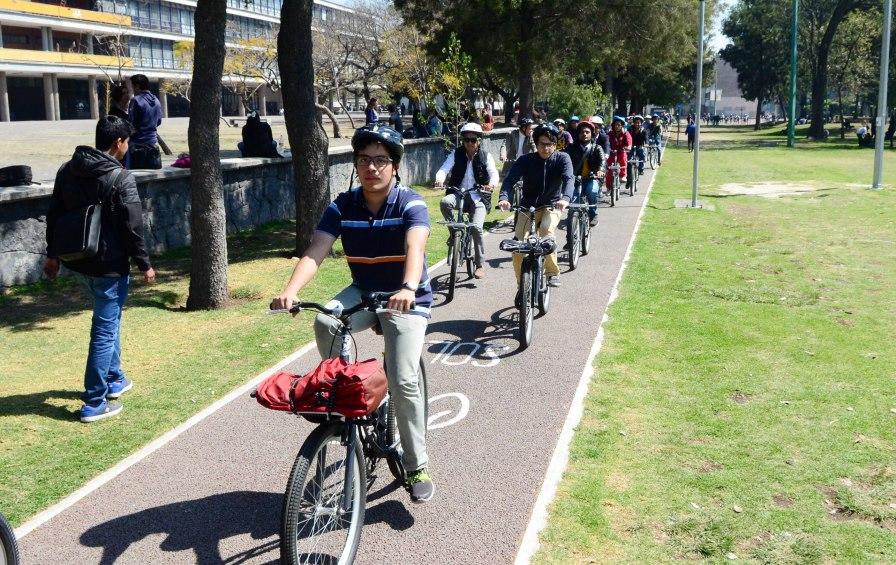 ciclistas unam