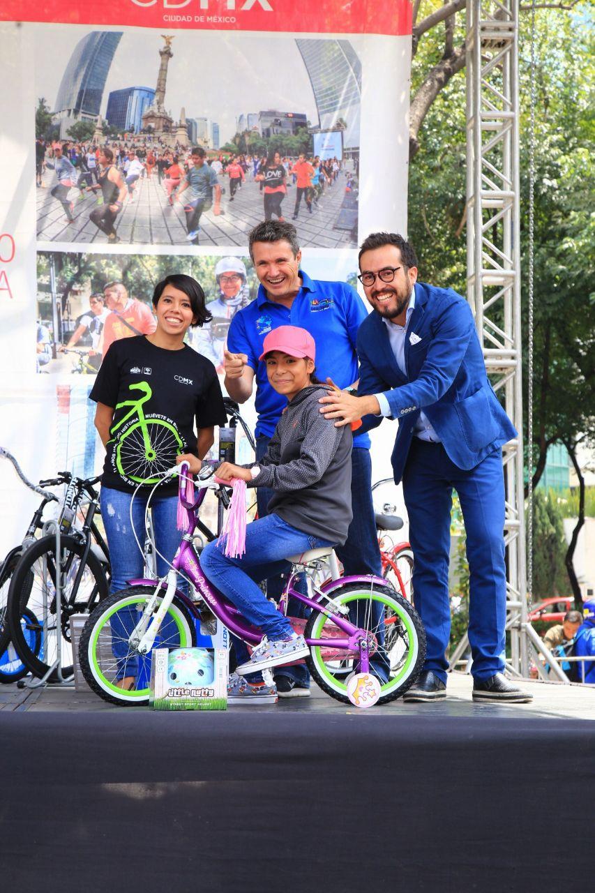 11 aniversario Paseo Dominical Muévete en Bici